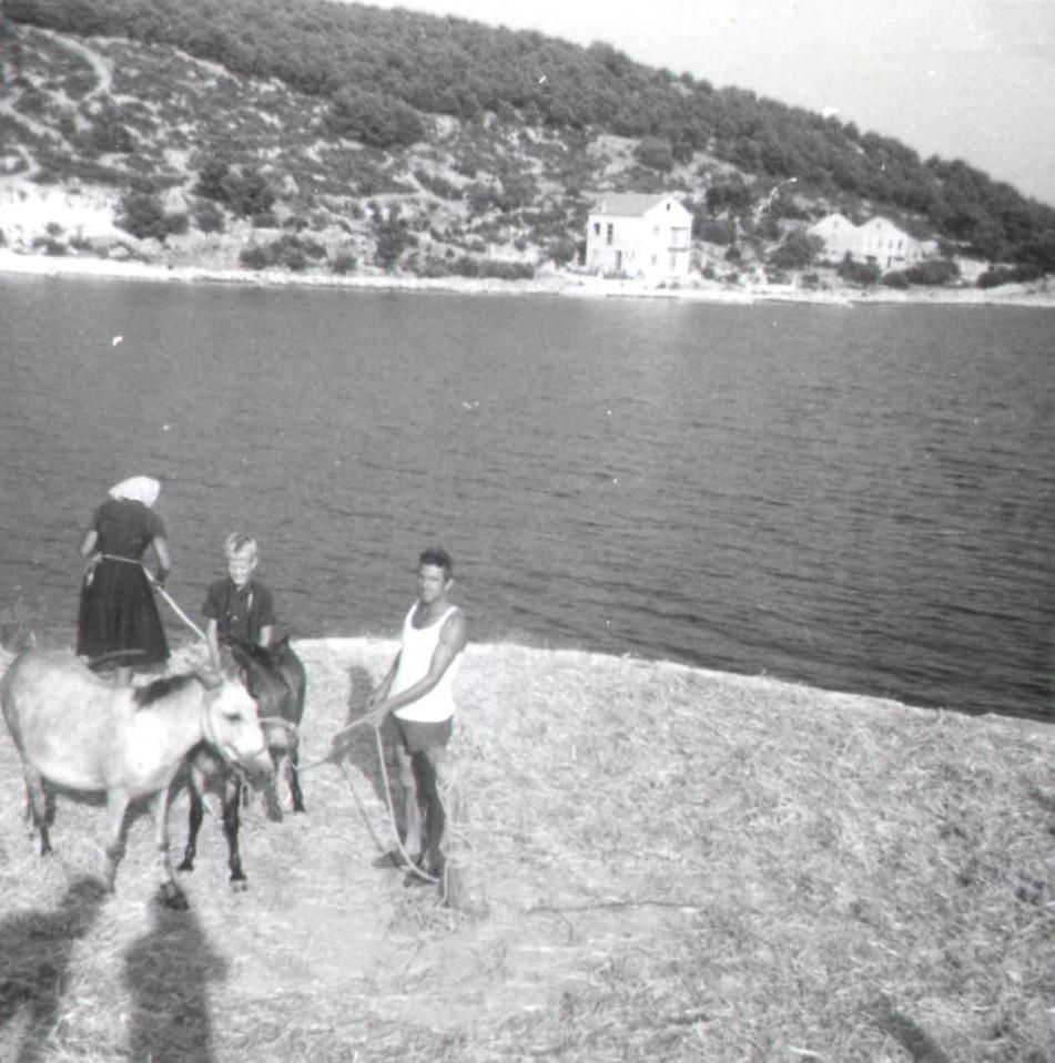 Olaf la Cour, summer 1967. Istria, Yugoslavia