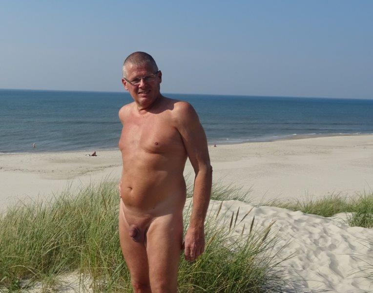 Olaf la Cour, Houstrup beach